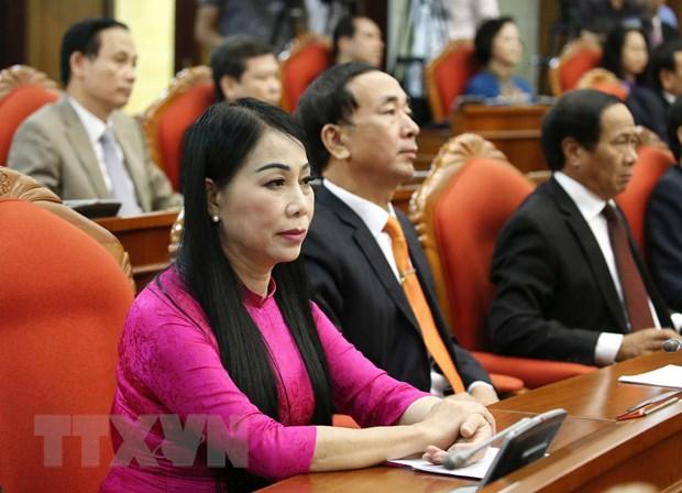 Hinh anh Be mac Hoi nghi lan thu 11 Ban Chap hanh TW Dang khoa XII hinh anh 27
