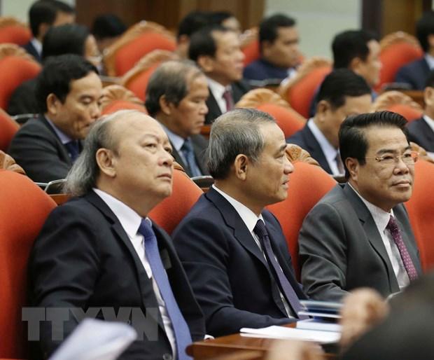 Hinh anh Be mac Hoi nghi lan thu 11 Ban Chap hanh TW Dang khoa XII hinh anh 3