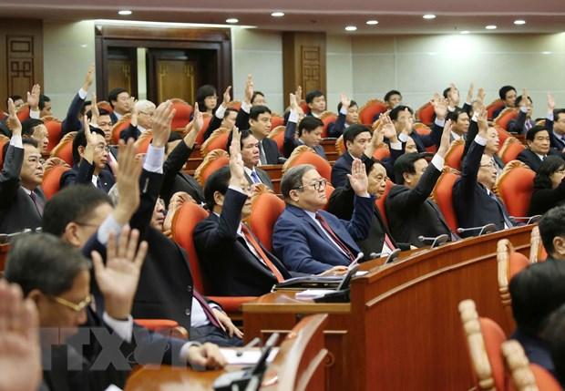 Hinh anh Be mac Hoi nghi lan thu 11 Ban Chap hanh TW Dang khoa XII hinh anh 4
