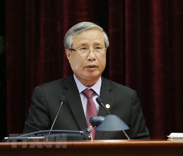 Hinh anh Be mac Hoi nghi lan thu 11 Ban Chap hanh TW Dang khoa XII hinh anh 6