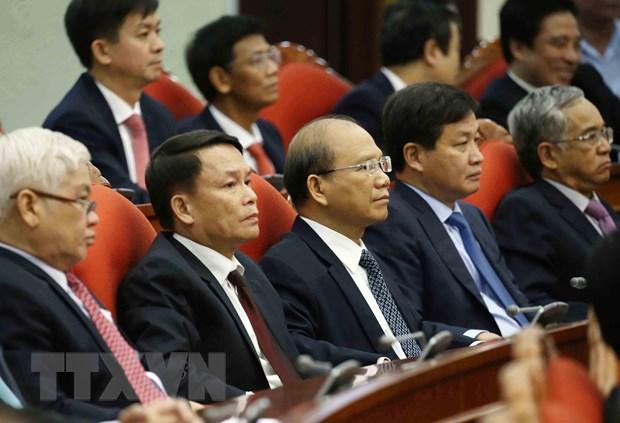 Hinh anh Be mac Hoi nghi lan thu 11 Ban Chap hanh TW Dang khoa XII hinh anh 7