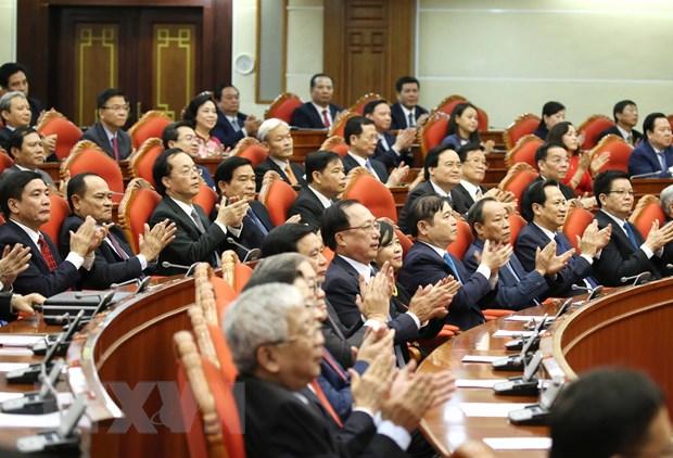 Hinh anh Be mac Hoi nghi lan thu 11 Ban Chap hanh TW Dang khoa XII hinh anh 8