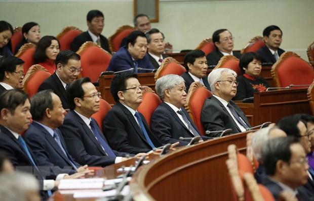 Hinh anh Be mac Hoi nghi lan thu 11 Ban Chap hanh TW Dang khoa XII hinh anh 9