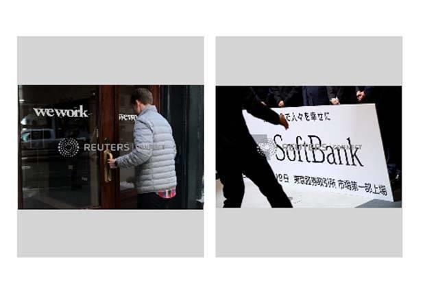 Tap doan SoftBank chuan bi ke hoach nham thau tom WeWork hinh anh 1