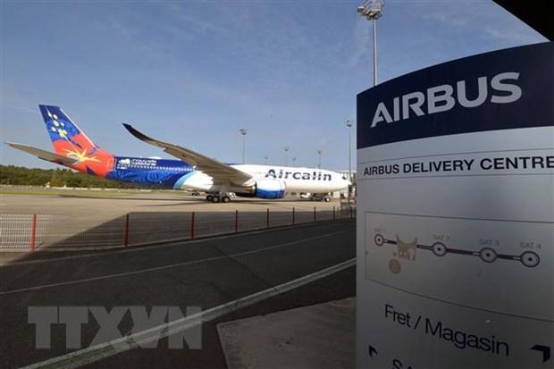 Airbus hoi thuc EU va My giai quyet tranh cai ve tro cap hang khong hinh anh 1