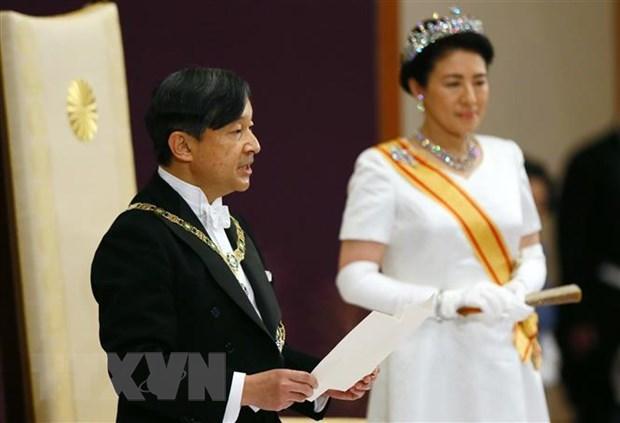 Viet Nam chuc mung Nhat Ban nhan dip Nha Vua Naruhito dang quang hinh anh 1