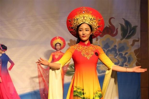 Tung bung Ngay hoi Doanh nhan - Le hoi ao dai tai Han Quoc hinh anh 1
