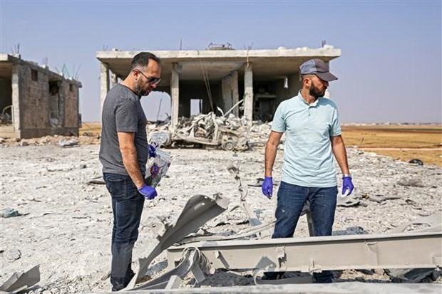 Syria: Danh bom gan khu cho lam gan 40 nguoi thuong vong hinh anh 1