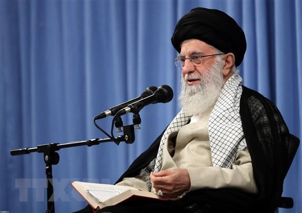 Lanh tu toi cao Khamenei: Iran se khong dam phan voi My hinh anh 1