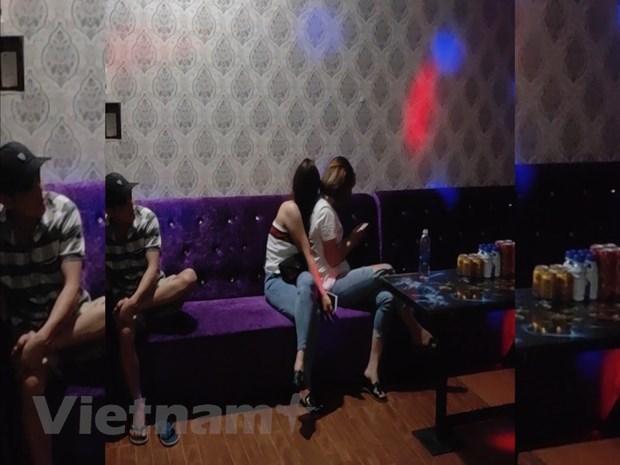 Binh Phuoc: Nhieu doi tuong duong tinh voi ma tuy tai quan karaoke hinh anh 1