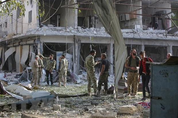 Tho Nhi Ky cao buoc nguoi Kurd vi pham lenh ngung ban o mien Bac Syria hinh anh 1