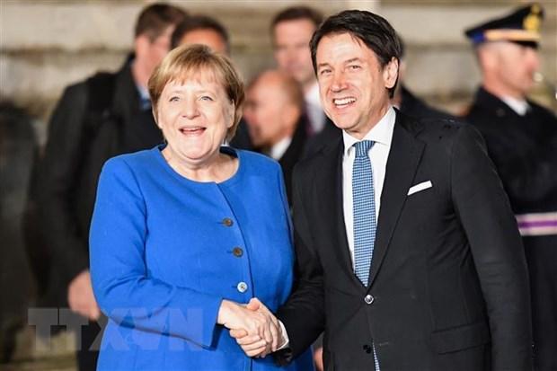 Italy va Duc cam ket giai quyet cac thach thuc cua EU hinh anh 1