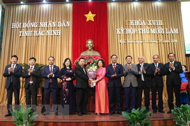 Bac Ninh bau Chu tich Hoi dong Nhan dan va Uy ban Nhan dan tinh hinh anh 1