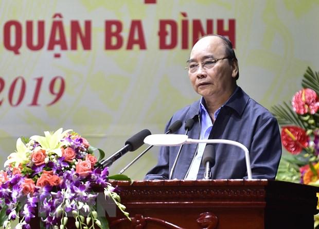 Thu tuong du Ngay hoi Dai doan ket toan dan toc tai phuong Dien Bien hinh anh 1