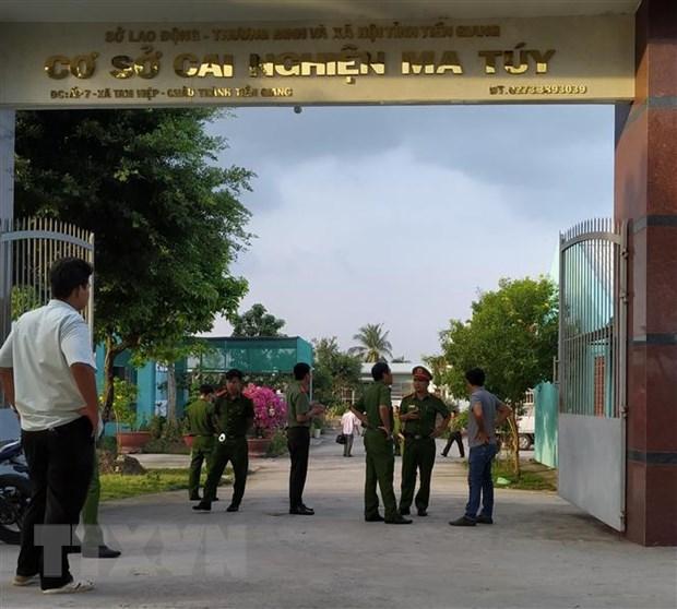 Tien Giang: Hon mot nua hoc vien bo tron da tro lai co so cai nghien hinh anh 1