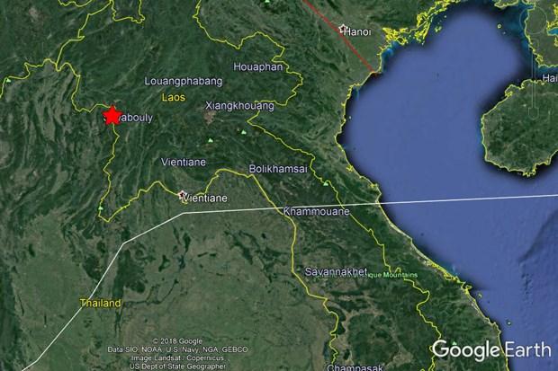 Lao thong tin ve tran dong dat o khu vuc bien gioi voi Thai Lan hinh anh 1
