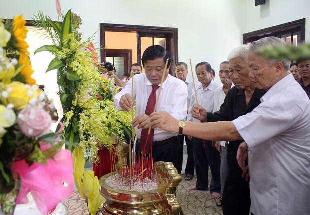 Vinh Long: Ky niem 97 nam ngay sinh Thu tuong Vo Van Kiet hinh anh 1