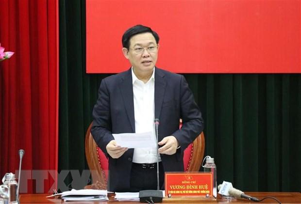 Doan Bo Chinh tri kiem tra viec thuc hien cac nghi quyet tai Quang Tri hinh anh 1
