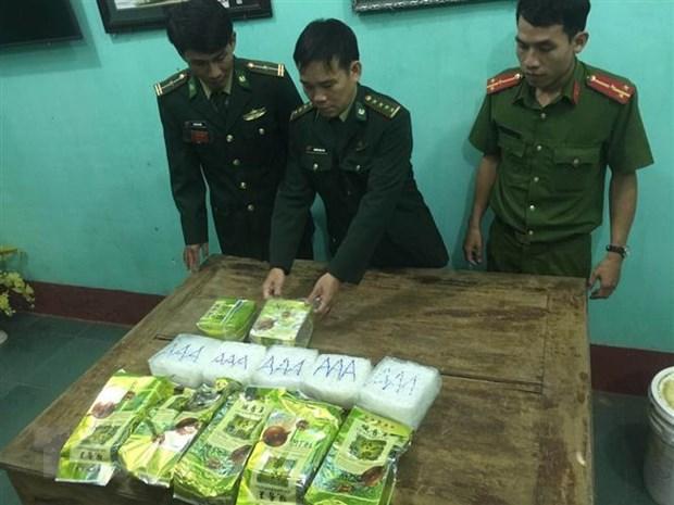 Quang Tri: Phat hien 7 goi nghi ma tuy da troi dat vao bo bien hinh anh 1