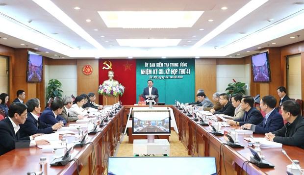 Uy ban Kiem tra Trung uong xem xet vi pham cua ong Hoang Trung Hai hinh anh 2