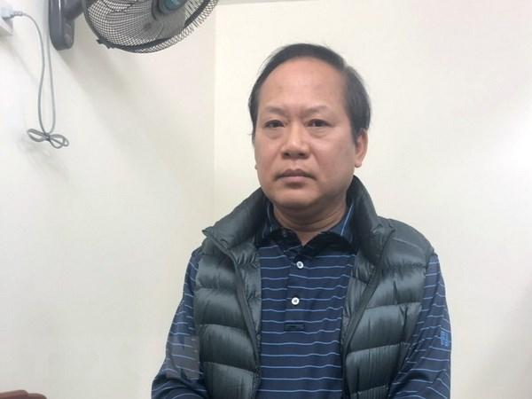 Cuu Bo truong Truong Minh Tuan bi trieu tap den hai phien toa hinh anh 1