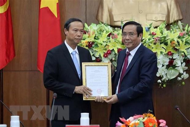Ong Nguyen Van Tho duoc bau lam Chu tich UBND tinh Ba Ria-Vung Tau hinh anh 1