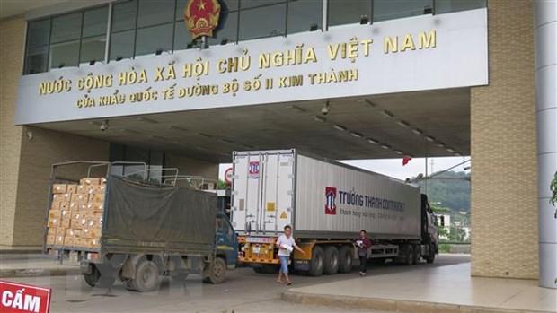 Dua Lao Cai thanh 'cau noi' giao thuong kinh te Viet Nam-Trung Quoc hinh anh 1