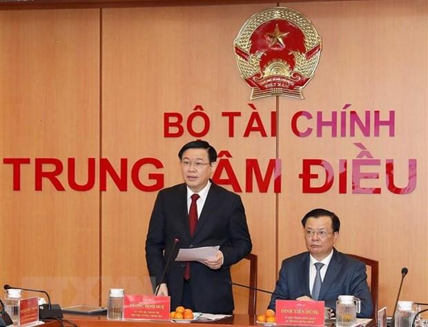 Pho Thu tuong Vuong Dinh Hue: Se cai cach tien luong dung lo trinh hinh anh 1