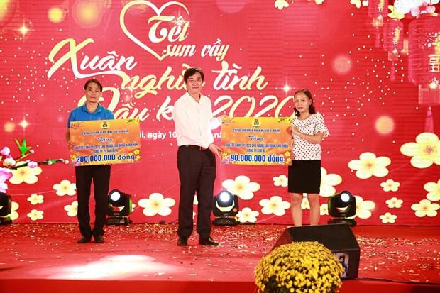 Loc hoa dau Binh Son to chuc Xuan nghia tinh Dau khi 2020 hinh anh 2
