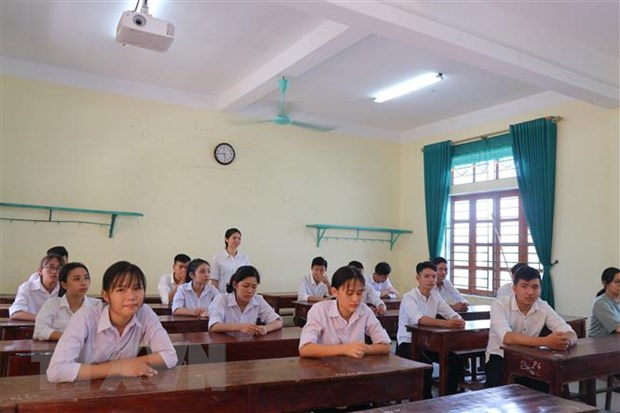 Du thao Quy che thi THPT quoc gia 2020: Siet chat khau cham thi hinh anh 1