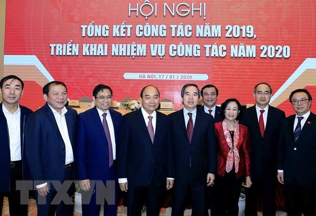 Hoi nghi trien khai nhiem vu nam 2020 cua Ban Kinh te Trung uong hinh anh 1