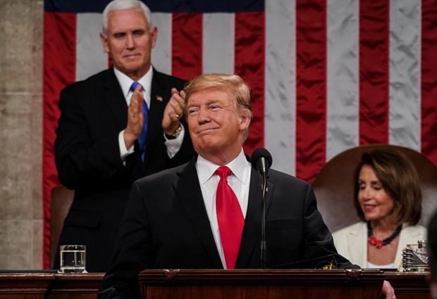 'Su tro lai cua nuoc My vi dai' trong Thong diep Lien bang cua D.Trump hinh anh 1
