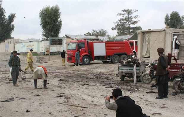 Afghanistan: No ben ngoai dai hoc quan su o thu do Kabul hinh anh 1