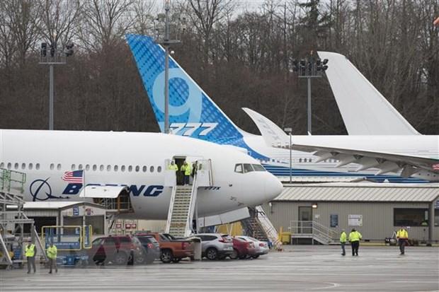 Boeing du dinh san xuat tro lai may bay 737 MAX vao thang Nam hinh anh 1