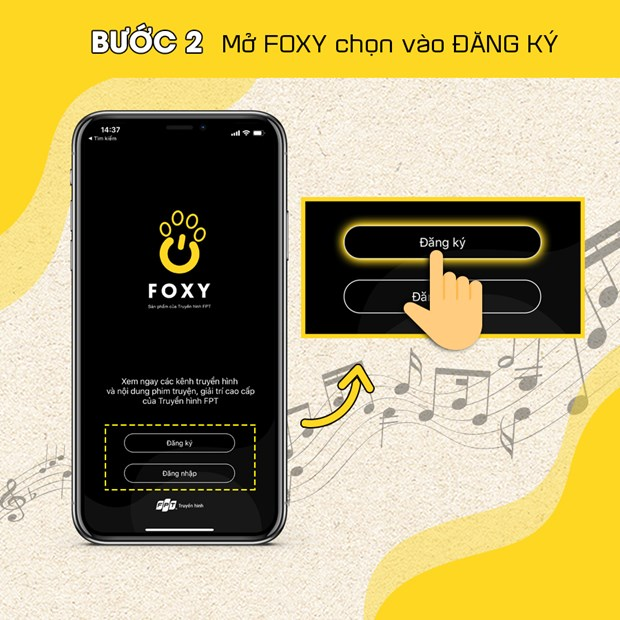 Xem Music Home mien phi tren ung dung di dong Foxy cua Truyen hinh FPT hinh anh 2