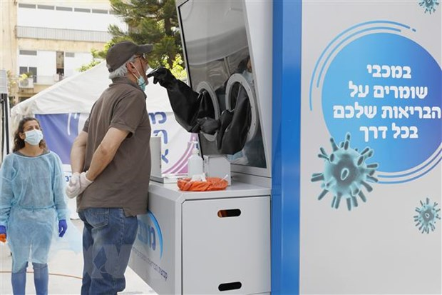 Israel dong cua phong thi nghiem chan doan sai benh nhan COVID-19 hinh anh 1