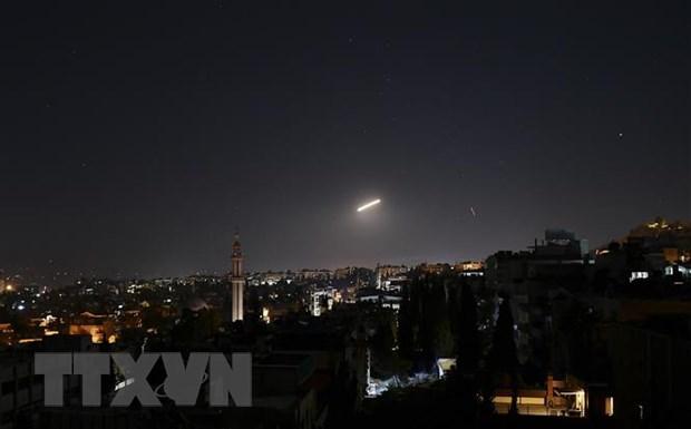 Syria dap tra cuoc tan cong ten lua cua Israel vao Palmyra hinh anh 1