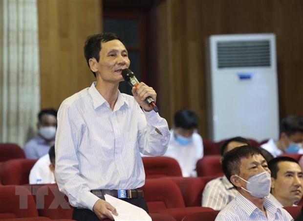 """Bi thu Thanh uy Ha Noi: Can lam tot hon nua chong """"tham nhung vat"""