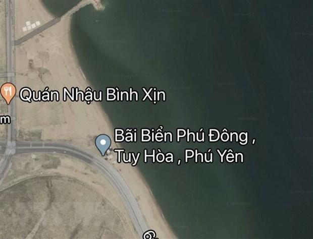 Google Maps da go bo thong tin sai su that ve bai bien Phu Lam hinh anh 1