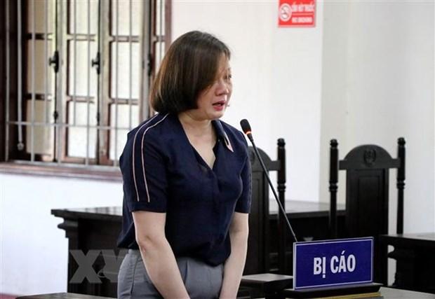 Nguyen can bo Thanh tra tinh Hoa Binh bi tuyen an 30 nam tu giam hinh anh 1