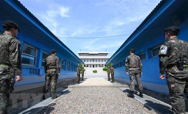 Quan doi Han Quoc tang cuong hanh dong giam sat Trieu Tien hinh anh 1
