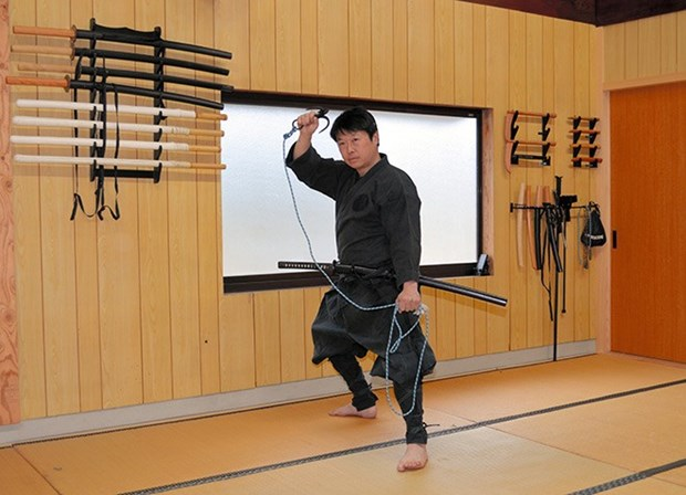 Dai hoc Nhat Ban lan dau tien cap chung chi nganh hoc ninja hinh anh 1