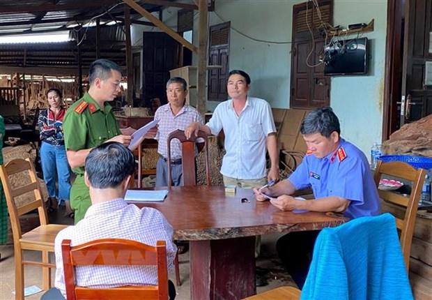 Gia Lai: Xu phat hai vu khai thac, tang tru lam san trai phep hinh anh 1