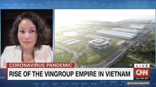 CNN: Vuot qua dai dich, Vingroup thang tien den thi truong My hinh anh 2