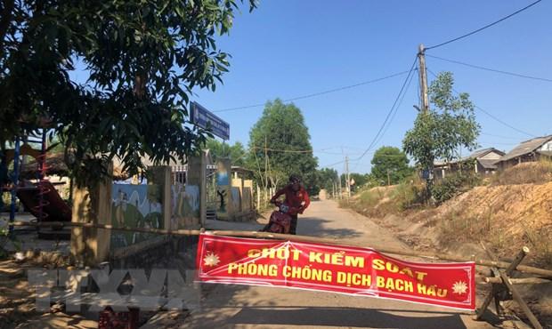 Quang Tri da co 5 ca mac benh bach hau chua ro nguon lay hinh anh 1