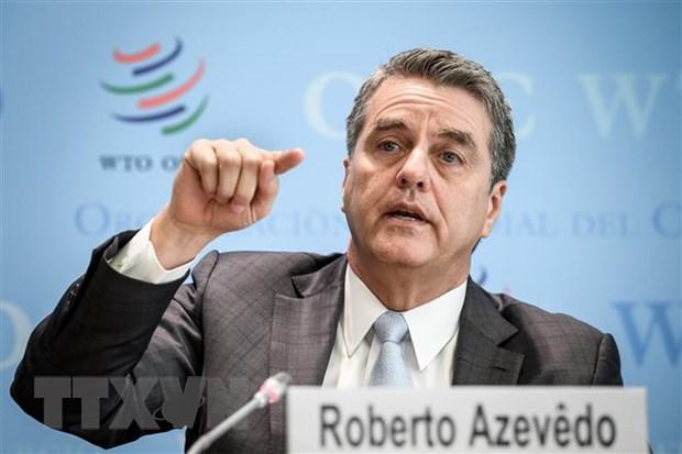 Tong Giam doc Roberto Azevedo: WTO phai doi mat voi ap luc khung khiep hinh anh 1