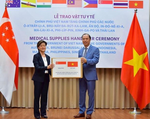 Singapore va Viet Nam: Doi tac gia tri trong thoi ky thach thuc hinh anh 1