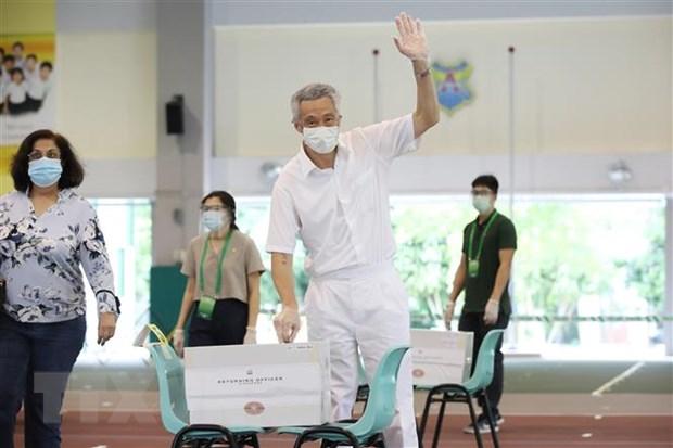 Singapore: Thu tuong Ly Hien Long cong bo noi cac moi hinh anh 1