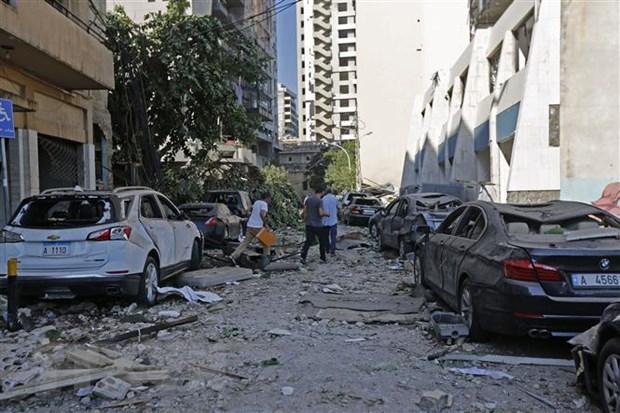 Vu no tai Beirut: Hon 5.000 nguoi bi thuong, 250.000 nguoi mat nha cua hinh anh 1