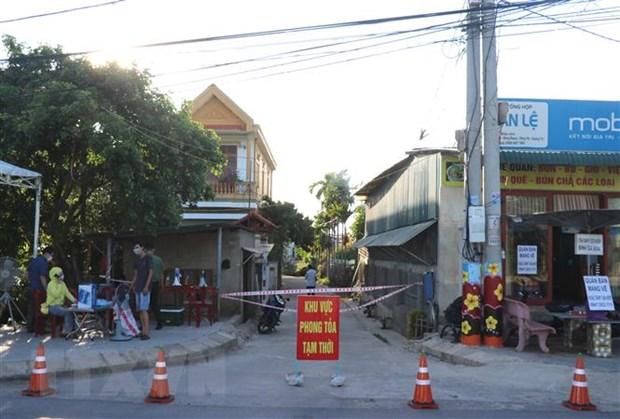 Quang Tri phong toa tam thoi them 3 khu vuc o thanh pho Dong Ha hinh anh 1